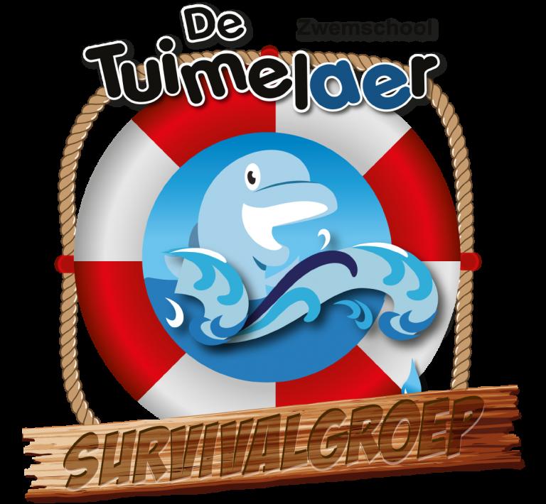 logo survival zwemmend redden den haag
